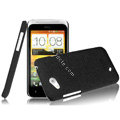 IMAK Cowboy Shell Quicksand Hard Cases Covers for HTC T328d Desire VC - Black