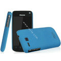 IMAK Cowboy Shell Quicksand Hard Cases Covers for Hisense EG906 - Blue