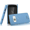 IMAK Cowboy Shell Quicksand Hard Cases Covers for Nokia 801T - Blue