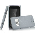IMAK Cowboy Shell Quicksand Hard Cases Covers for Nokia 801T - Gray