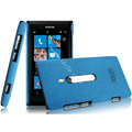 IMAK Cowboy Shell Quicksand Hard Cases Covers for Nokia Lumia 800 800c - Blue
