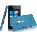 IMAK Cowboy Shell Quicksand Hard Cases Covers for Nokia Lumia 900 Hydra - Blue
