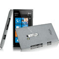 IMAK Cowboy Shell Quicksand Hard Cases Covers for Nokia Lumia 900 Hydra - Gray