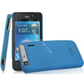 IMAK Cowboy Shell Quicksand Hard Cases Covers for TCL A860 - Blue