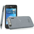 IMAK Cowboy Shell Quicksand Hard Cases Covers for TCL A860 - Gray