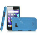 IMAK Cowboy Shell Quicksand Hard Cases Covers for TCL C995 - Blue