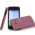 IMAK Cowboy Shell Quicksand Hard Cases Covers for TCL S600 - Purple