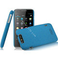 IMAK Cowboy Shell Quicksand Hard Cases Covers for TCL S800 - Blue
