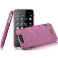 IMAK Cowboy Shell Quicksand Hard Cases Covers for TCL S800 - Purple