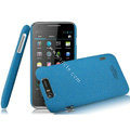 IMAK Cowboy Shell Quicksand Hard Cases Covers for TCL S900 - Blue