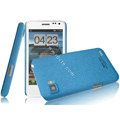 IMAK Cowboy Shell Quicksand Hard Cases Covers for ThL V11 - Blue