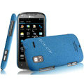 IMAK Cowboy Shell Quicksand Hard Cases Covers for ThL W1 - Blue
