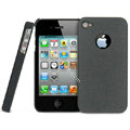 IMAK Cowboy Shell Quicksand Hard Cases Covers for iPhone 4G\4S - Black