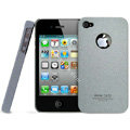 IMAK Cowboy Shell Quicksand Hard Cases Covers for iPhone 4G\4S - Gray
