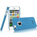 IMAK Cowboy Shell Quicksand Hard Cases Covers for iPhone 5 - Blue