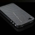 IMAK Diamond Texture Shell Hard Cases for iPhone 4G\4S - Black