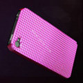 IMAK Diamond Texture Shell Hard Cases for iPhone 4G\4S - Fuchsia