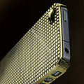 IMAK Diamond Texture Shell Hard Cases for iPhone 4G\4S - Gold