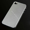 IMAK Diamond Texture Shell Hard Cases for iPhone 4G\4S - White