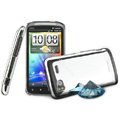 IMAK Mirror Series Covers Hard Cases for HTC Pyramid Sensation 4G G14 Z710e - Specular Color