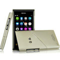 IMAK Mix and Match Color Covers Hard Cases for Nokia N9 - Gold