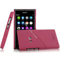 IMAK Mix and Match Color Covers Hard Cases for Nokia N9 - Rose