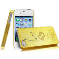 IMAK Pisces Constellation Color Covers Hard Cases for iPhone 4G\4S - Golden