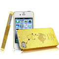 IMAK Taurus Constellation Color Covers Hard Cases for iPhone 4G\4S - Golden