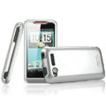 IMAK Titanium Armor Knight Color Covers Hard Cases for HTC Lexicon S610D - Silver