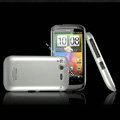 IMAK Titanium Color Covers Hard Cases for HTC Desire S G12 S510e - Silver
