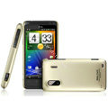 IMAK Titanium Color Covers Hard Cases for HTC EVO Design 4G Hero S Kingdom - Gold