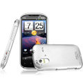 IMAK Titanium Color Covers Hard Cases for HTC Ruby Amaze 4G - Silver