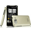 IMAK Titanium Color Covers Hard Cases for HTC T9199 - Gold