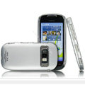 IMAK Titanium Color Covers Hard Cases for Nokia C7 - Silver