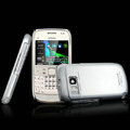 IMAK Titanium Color Covers Hard Cases for Nokia E6 - Silver