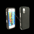 IMAK Ultra-thin Color Covers Hard Cases for Nokia N97 mini - Black