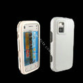 IMAK Ultra-thin Color Covers Hard Cases for Nokia N97 mini - White