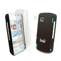 IMAK Ultrathin Color Covers Hard Cases for Nokia 5230 - Black