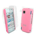 IMAK Ultrathin Color Covers Hard Cases for Nokia 5230 - Pink