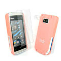 IMAK Ultrathin Color Covers Hard Cases for Nokia 5530 - Pink
