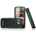 IMAK Ultrathin Color Covers Hard Cases for Nokia 5800 - Black