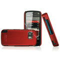 IMAK Ultrathin Color Covers Hard Cases for Nokia 5800 - Red