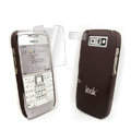 IMAK Ultrathin Color Covers Hard Cases for Nokia E71 - Brown