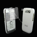 IMAK Ultrathin Color Covers Hard Cases for Nokia E71 - White