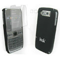 IMAK Ultrathin Color Covers Hard Cases for Nokia E72 - Black