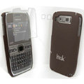 IMAK Ultrathin Color Covers Hard Cases for Nokia E72 - Brown