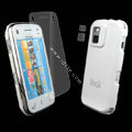 IMAK Ultrathin Color Covers Hard Cases for Nokia N97 mini - White