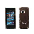 IMAK Ultrathin Color Covers Hard Cases for Nokia X6 - Brown
