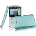 IMAK Ultrathin Matte Color Covers Hard Cases for HTC Chacha A810e G16 - Blue