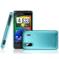 IMAK Ultrathin Matte Color Covers Hard Cases for HTC EVO Design 4G Hero S Kingdom - Blue
